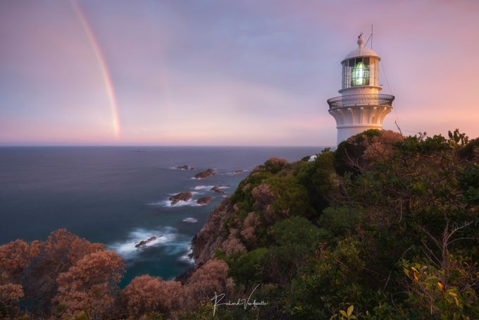 Sugarloaf Point Lighthouse by richardvandewalle - Rainbows Overhead Photo Contest