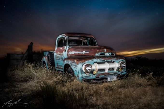 1952 Ford on the  prairie of North Central Montana by Larzz - My Favorite Car Photo Contest