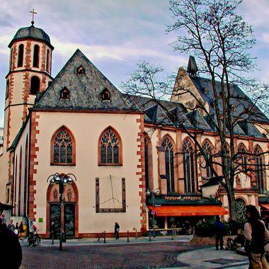 Church in centre of Frankfurt.