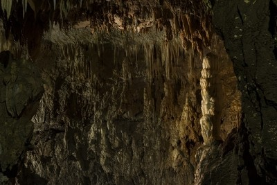 Stiffe Caves formations