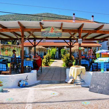Cafe Restaurant Amfitriti, Samos.