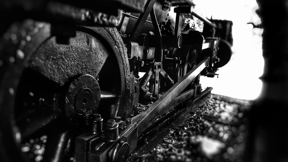 Reclaimed locomotive