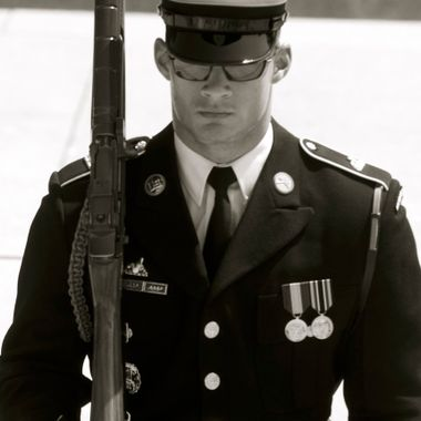 Sentinel at the Tomb of the Unknown Soldier