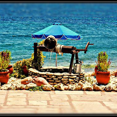 A well at Ireon, Samos Island.