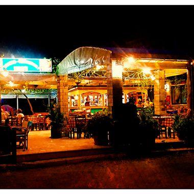 Taverna Haravgi late evening , night.