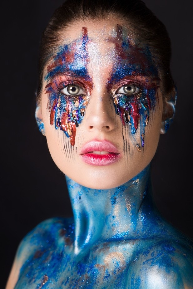 Make up by Filkina - Paint And Makeup Photo Contest