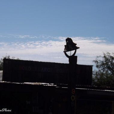 antique bell in Pearce AZ