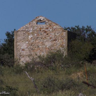 abandoned rock cabin in Gleeson AZ