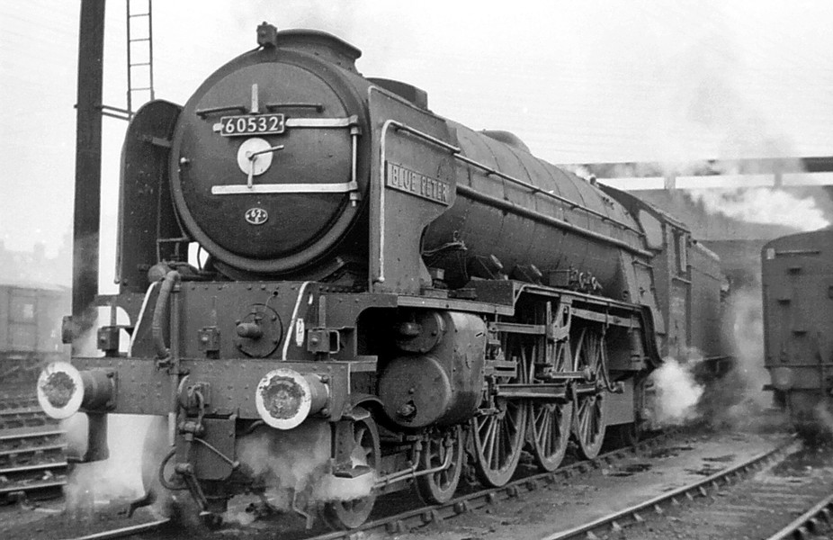 One of the first locomotives to be earmarked for preservation in the early 1960's was 60...