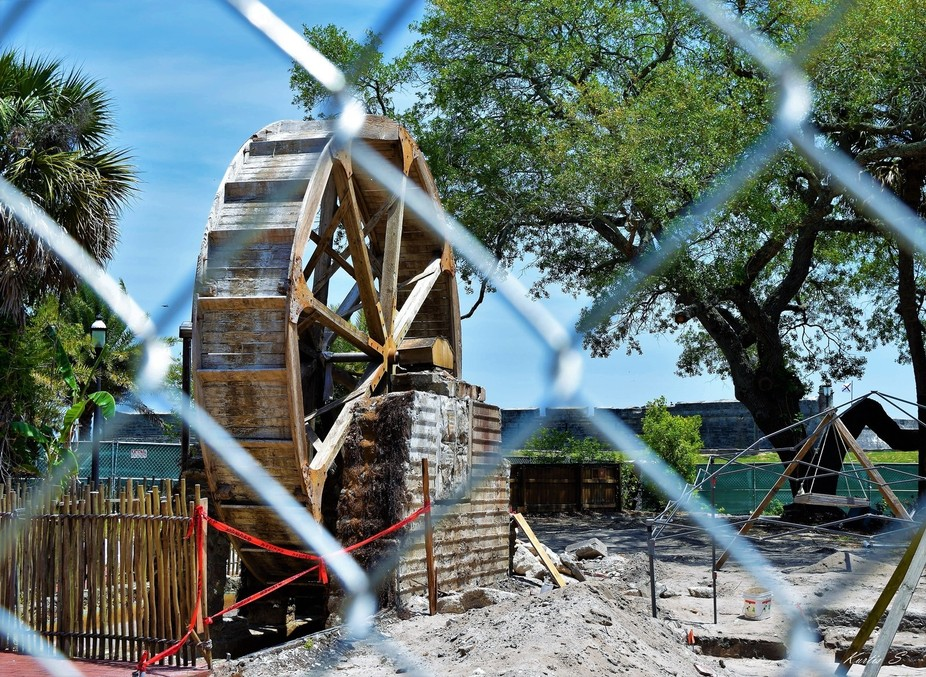 Archaeology dig in St Augustine Fl.