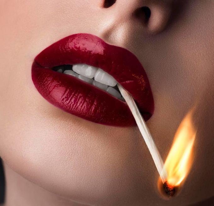 Macro lips by iuliadavid - Showcase Lips Photo Contest