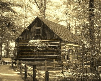 Hesler Log House