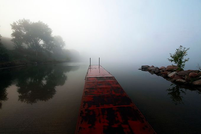 Missouri River Boat Landing.  Bismarck ND