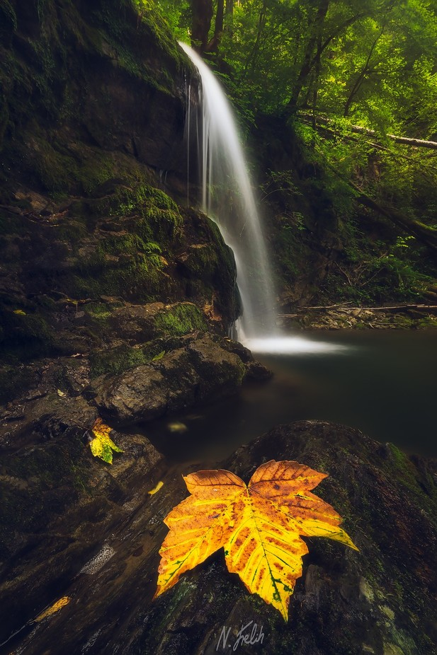 Bezjak waterfall by ninofrelih - Fall 2017 Photo Contest