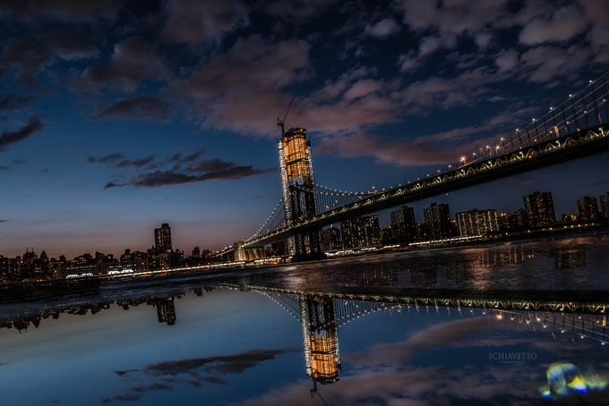 Brooklyn Bliss by cynthiastaliunas - City In The Night Photo Contest