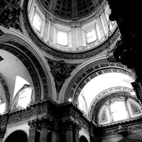 B&W New Cathedral, Italy