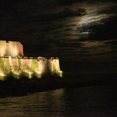 Coronet Castle by Moonlight