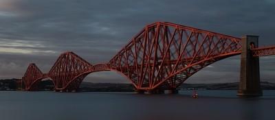 Forth Bridge at Sunset