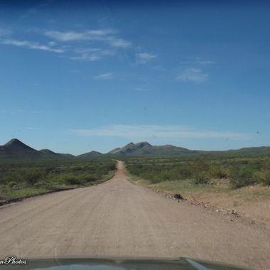 Ghost Town Trail AZ ~between Pearce and Gleeson AZ