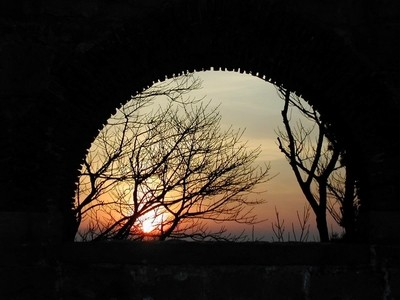 Sunset at Rivington