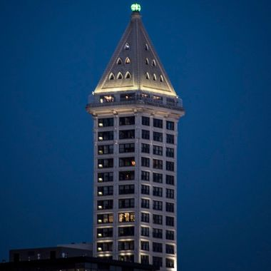 Smith Tower at Dusk