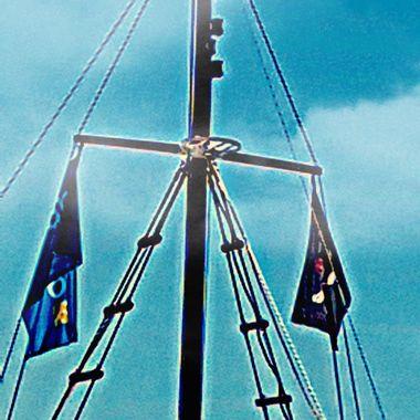 Abstract Ships Mast.