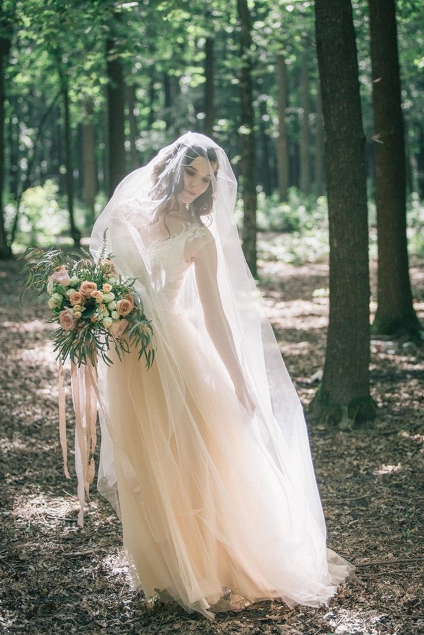 Forest Fairy by AnastaciaPetropavlovskaya - Here Comes The Bride Photo Contest