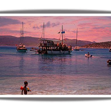 Posidonio Bay , Samos, Greece.