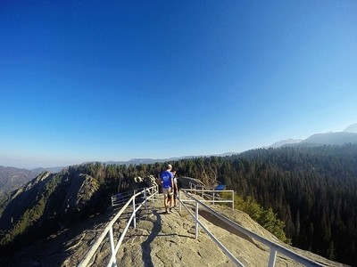 Moro Rock in the Sequoias