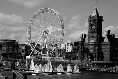DSC_007 A scene at Cardiff Bay