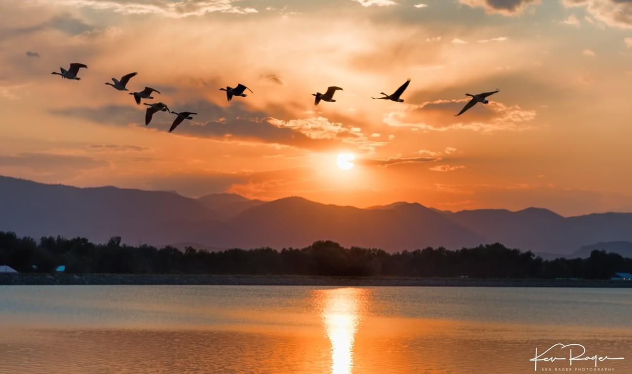 Terry Lake Sunset