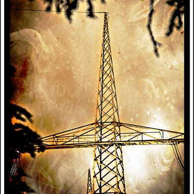 Electric pylon manipulated.