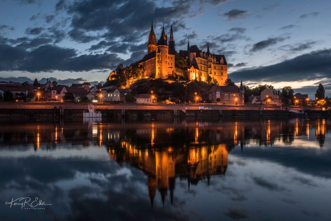 Albrechtsburg Twilight 2.1 by kerryellis - Architecture And Reflections Photo Contest