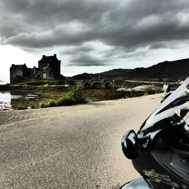 One fine day out west at Eilean Donan Castle