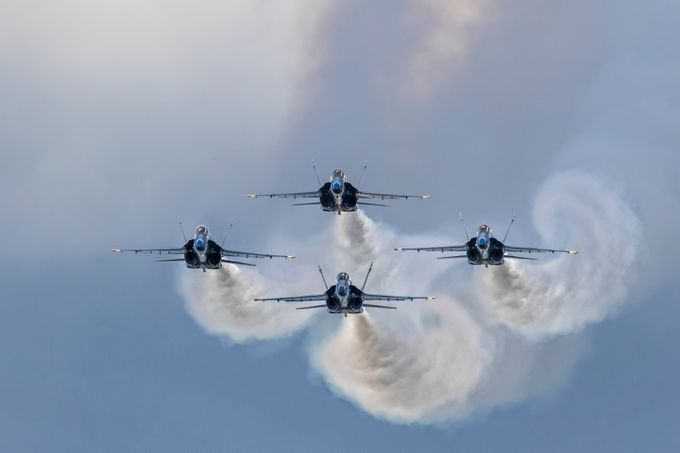 blue angles by bradnel - Aircraft Photo Contest
