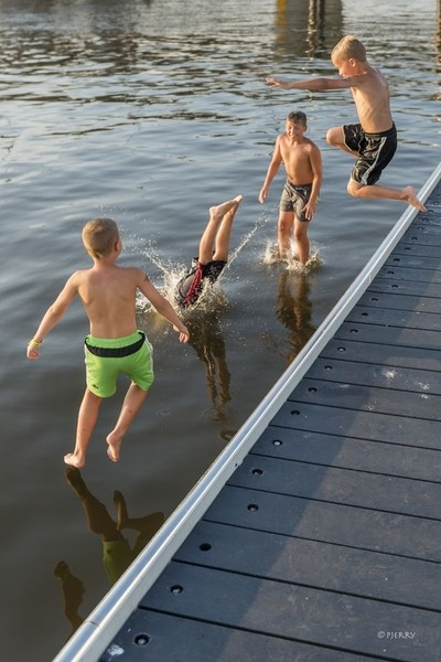 Walking on water, some can, others can not.....