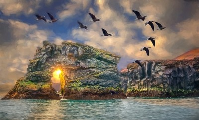 Westman Island Sundown