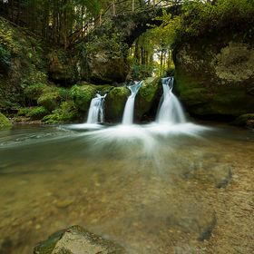 »Follow the stream« Mullerthal | Luxembourg Canon 6D + Canon EF17-40mm f/4L USM NiSi FiltersHolder V5 + Polarizer + GND8 soft (0.9) © Chantal ...