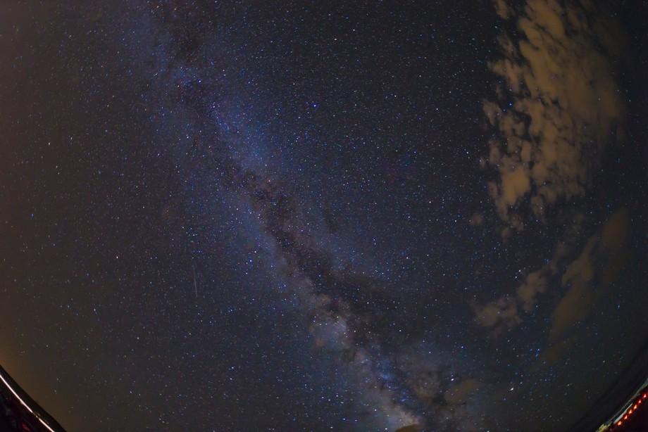 Milky way at Horseshoe Bend, AZ