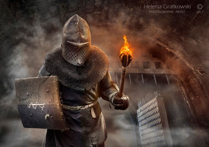 In days of Old when Knights were Bold by HelenaGratkowski - Shooting Fire Photo Contest