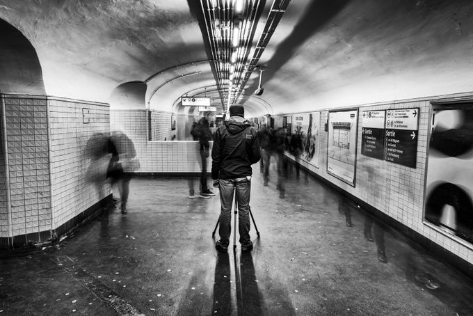 The fast and the frozen ! by Lucdeherdt - Metro Stations Photo Contest
