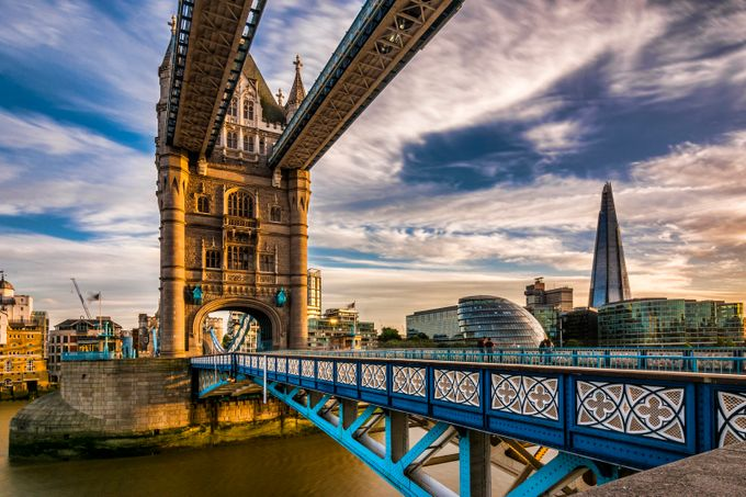Tower bridge in evening light by zenit - Simply HDR Photo Contest