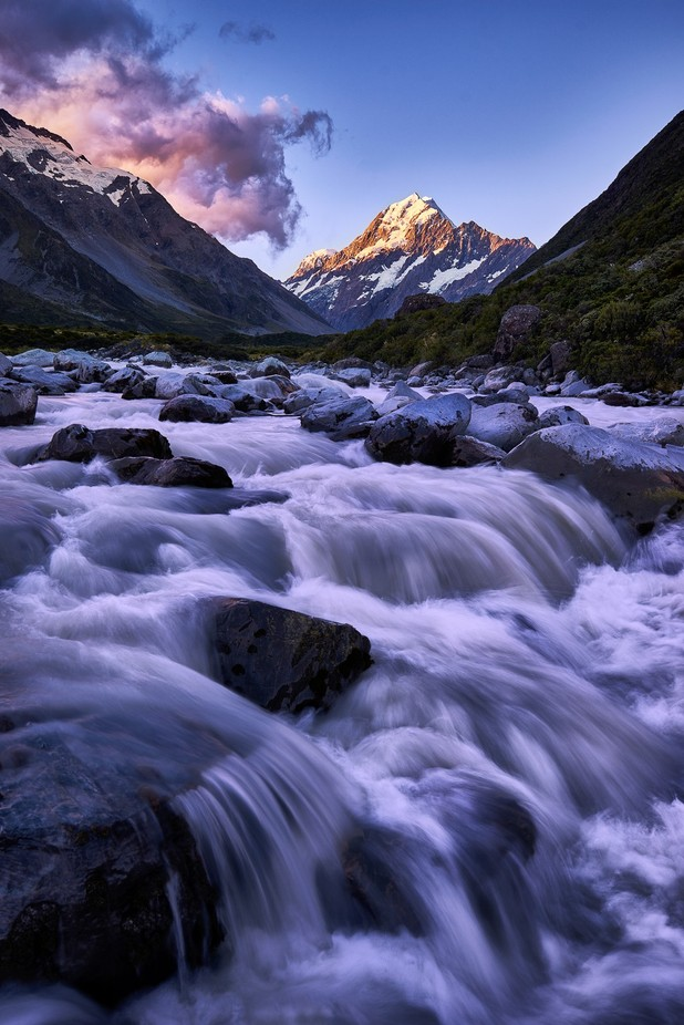 The Flood || Mt Cook, New Zealand by capturezeworld - Magnificent Canyons Photo Contest