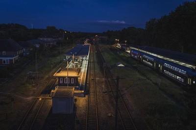 Flensburg Station at night :)