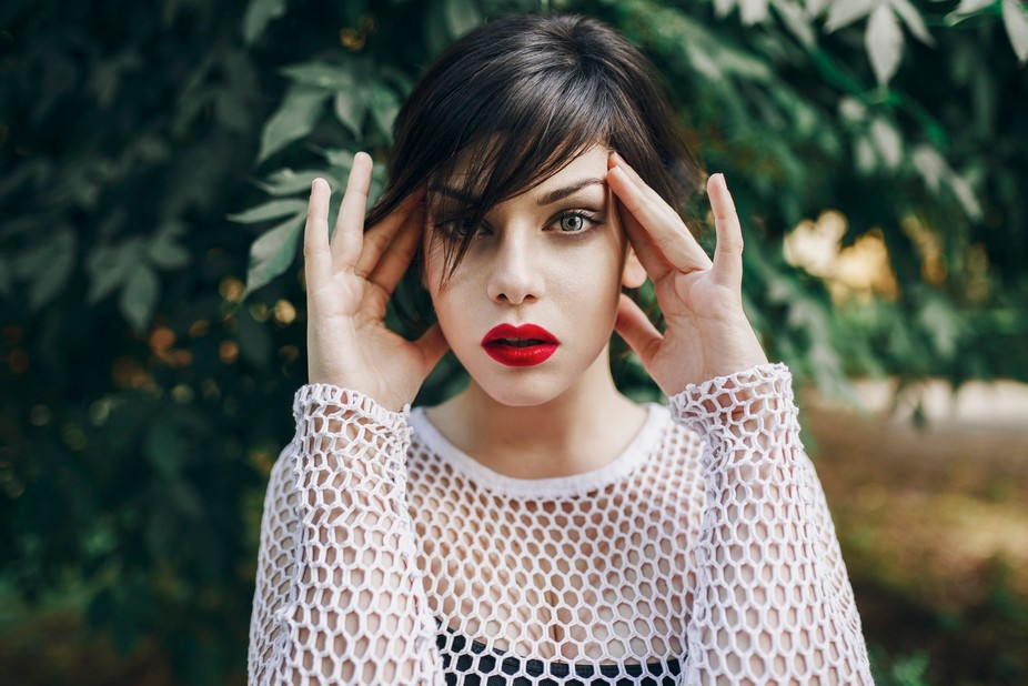 model: Topaz makeup: Alicja Zielonka photo/retoucher: Barbara Duchalska
