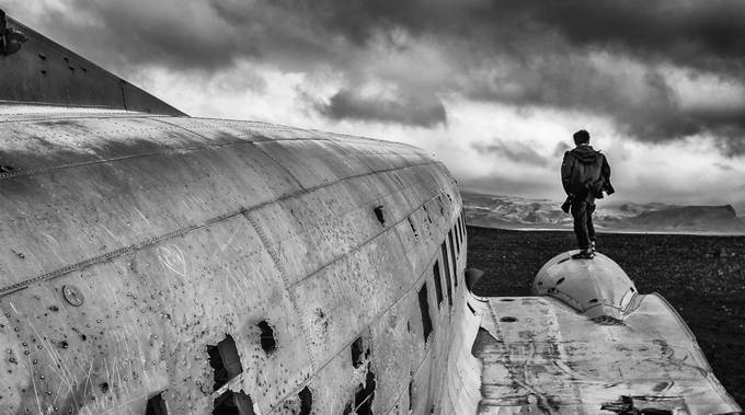 DC-3 Wreckage by JoshuaDavidReid - Rule Of Thirds Photo Contest v3