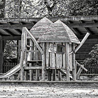 Playhouse at Dortmund Zoo.