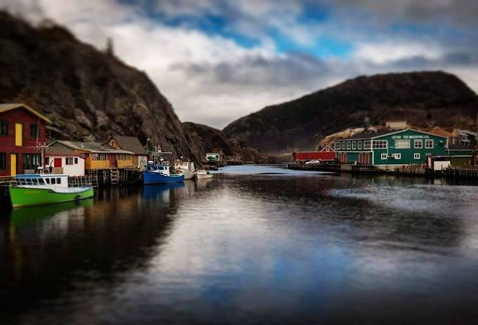 Wishing I was here again. A quaint town in a peaceful inlet. #eastcoast #qui by KatnPat - Photogenic Villages Photo Contest