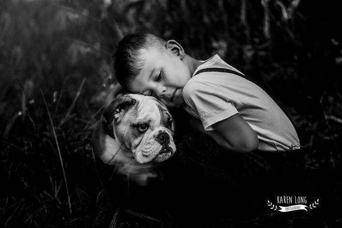 Me & My dog by karenlong - People And Animals Photo Contest