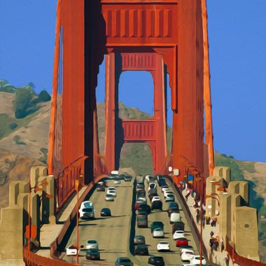 Having grown up in the city, San Francisco's Golden Gate Bridge will always hold a special place in my heart. Now that I live in Italy with no plans to return to the states I think, back fondly on the times spent in the city and most especially her beautiful welcoming bridge.